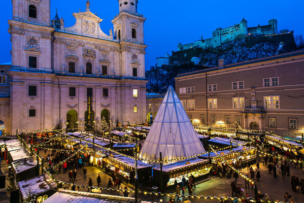 Salzburg Christmas Market Copyright Salzburg.info