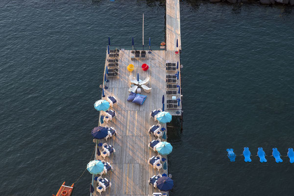 A pier in the port of Sorrento, near Naples, Campania, Italy - Copyright photogolfer