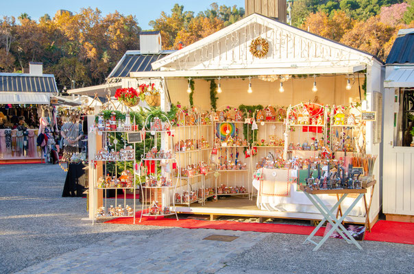 Malaga Christmas market - Copyright Matthieu Cadiou / European Best Destinations