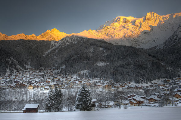 Les Contamines-Montjoie Ski Resort, French Alps ©GillesLansard