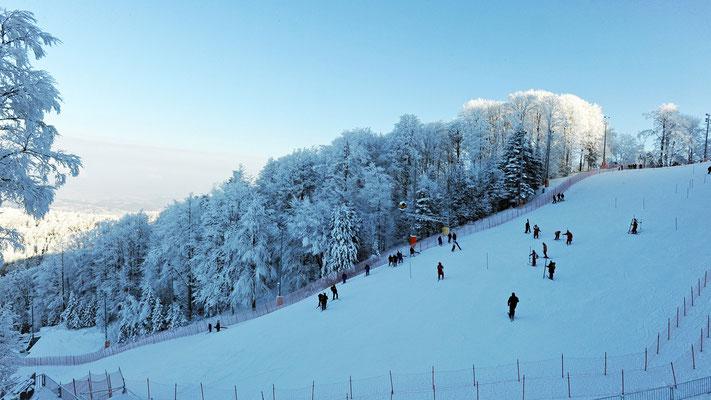 Sljeme is a small ski resort near Zagreb in Croatia - Copyright Croatia.hr