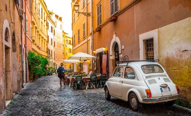 Rome Trastevere copyright Shutterstock Editorial  Nicola Forenza