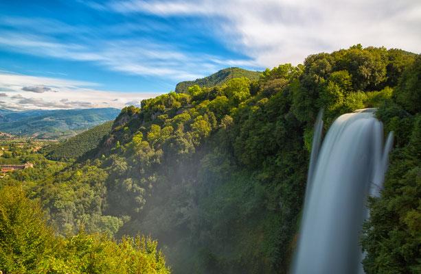 Cascata Delle Marmore waterfalls in Terni, Umbria, Italy Copyright Shchipkova Elena