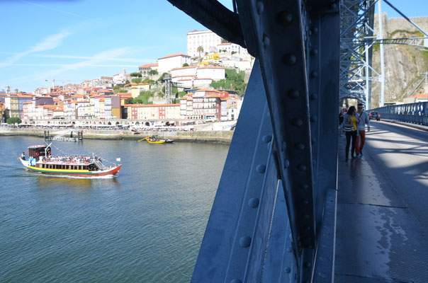 Ribeira view from the Luis I Bridge, Porto, Portugal © European Best Destinations