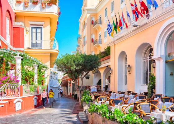 Capri Shutterstock editorial copyright Roman Babakin