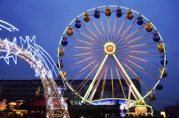 Best Christmas Markets in Germany -  Leipzig Christmas Market - Copyright Andreas Schmidt