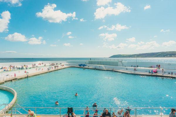 Jubilee Pool Penzance Cornwall copyright Editorial Shutterstock Clare McEwen