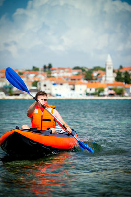 Kayak tour in Croatia - Copyright Slawomir Kruz