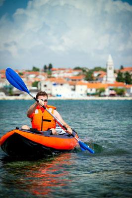 Kayak tour in Croatia - Copyright Slawomir Kruz