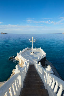 Benidorm Mirador del Castillo near Alicante Spain by holbox