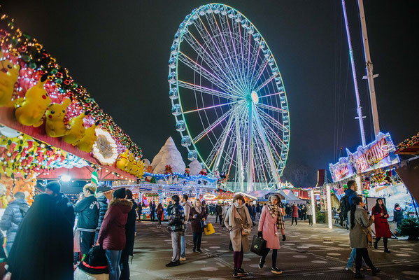 Best Christmas Markets in the Uk - Hyde Park WinterWonderland - Copyright C Faruolo