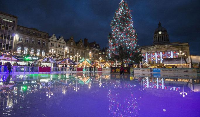 Nottingham Christmas Market - Best Christmas Markets in Europe - European Best Destinations - Copyright Nottinghamshire.co.uk