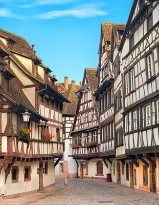 Strasbourg, La Petite France district, France Copyright Boris Stroujko