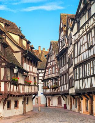 Strasbourg, La Petite France district, France Copyright Boris Stroujko