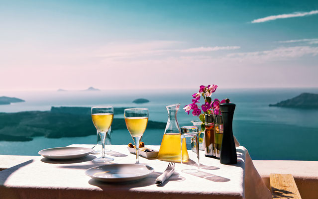 Romantic and gastronomic Santorini Copyright Okssi- Santorini European Best Destinations