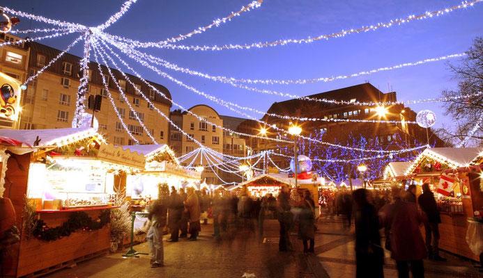 Lille Christmas Market  © Fédération Lilloise du commerce