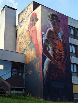 Moulins - European Destinations of Excellence - European Best Destinations - Copyright Street Art City