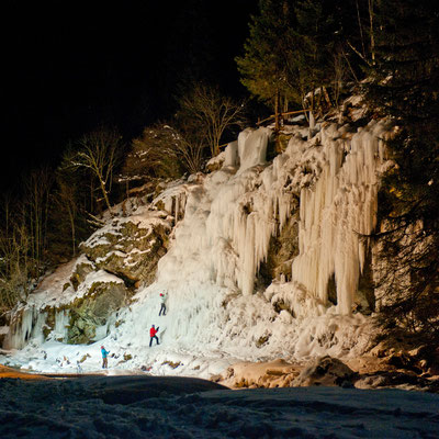 Les Contamines-Montjoie Ski Resort, French Alps ©ZIR - CASCADES DE GLACE-15