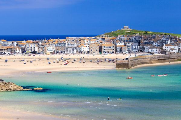 St Ives Cornwalls copyright ian woolcock