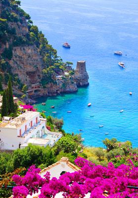 Positano - European Best Destinations - Positano Copyright Maria Uspenskaya