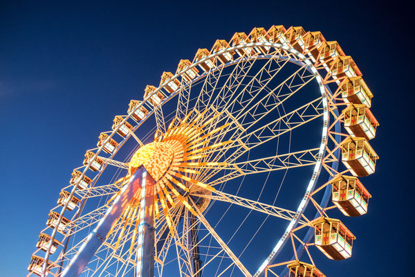 famous ferris wheel at the oktoberfest in munich - germany Copyright FooTToo