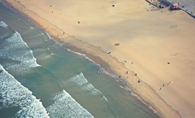 Aerial view of Matosinhos beach, Porto, Portugal © European Best Destinations