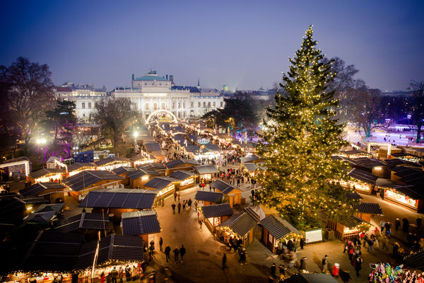 Vienna traditional Christmas Market, Austria - By Calin Stan
