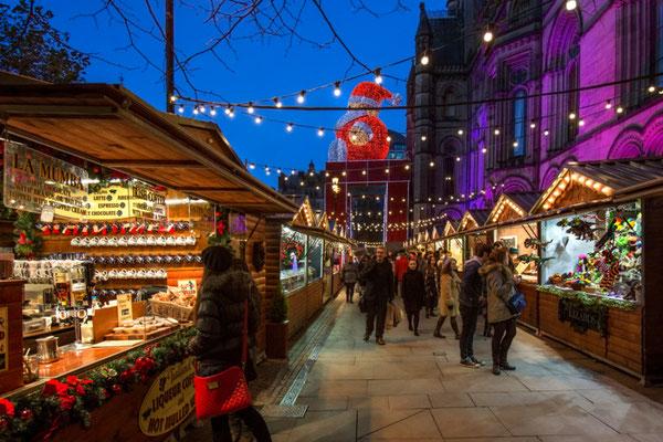 Manchester Christmas Market - Copyright  Steve Allen Editorial Shutterstock