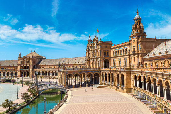 Seville - European Best Destinations - Spanish Square in Sevilla Copyright S-F