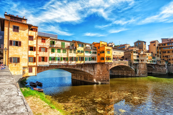 Tourism in Florence, Ponte Vecchio by Boris Stroujko