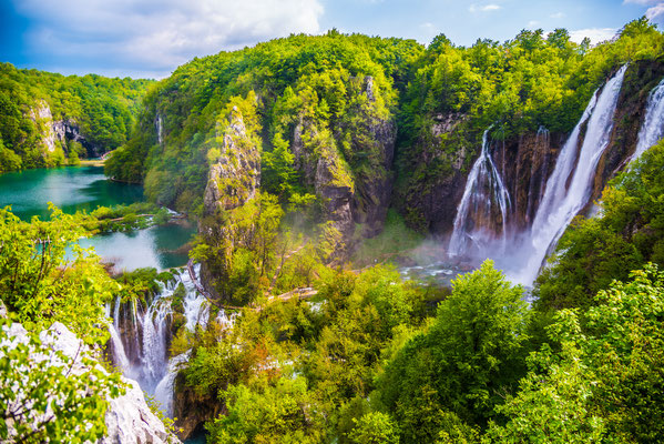 Plitvice Lakes National Park in Croatia - Copyright stjepann