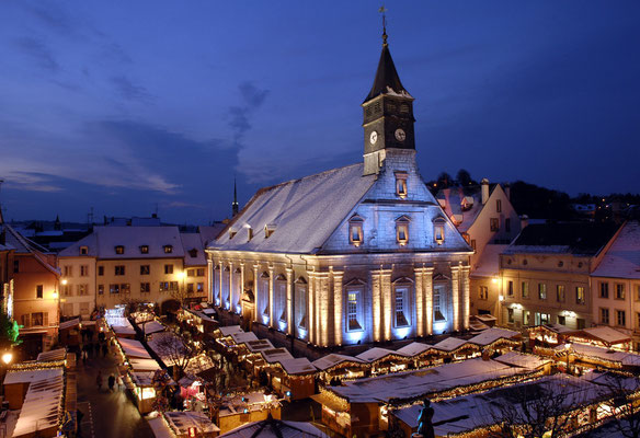 Montbeliard - Best Christmas Markets in Europe - Copyright Pays de Montbeliard