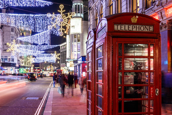 Christmas time in Soho, London - By Alexey Fedorenko