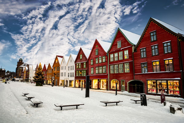 Bergen European Best Destinations Copyright In Green