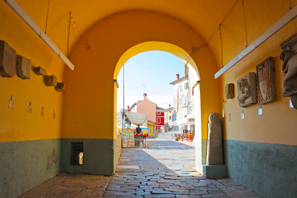 Motovun in Croatia - Copyright Alexandra Lande