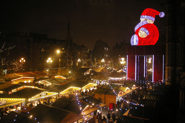 Best Christmas Markets in the UK  - Manchester Christmas Market - Copyright Manchester City Marketing