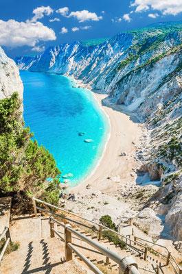 Platia Ammos beach, Kefalonia island, Greece - Copyright Lucian BOLCA