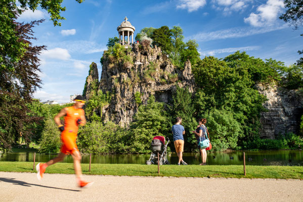 Paris Buttes Chaumont Copyright Editorial Shutterstock Dan Tiego