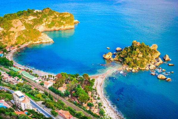 Sicily - European Best Destinations - Isola Bella in Taormina - Sicily - Copyright Emi Cristea