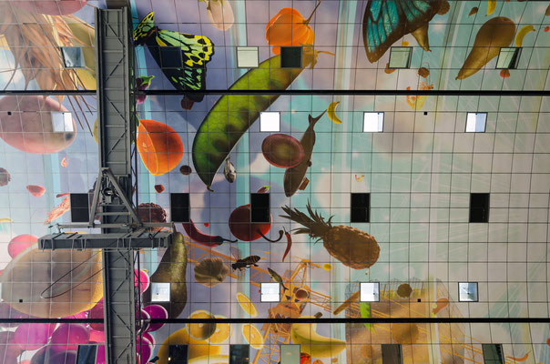 The new artistic Markthal in Rotterdam, The Netherlands - Copyright Sira Anamwong