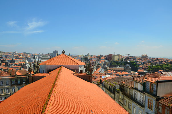View of Porto from the Torre dos Clérigos, Porto, Portugal © European Best Destinations