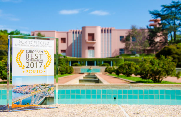Official Partner of Porto European Best Destination 2017 - Serralves Foundation