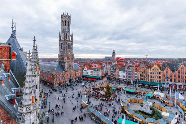 Bruges Christmas market - Copyright SilvanBachmann