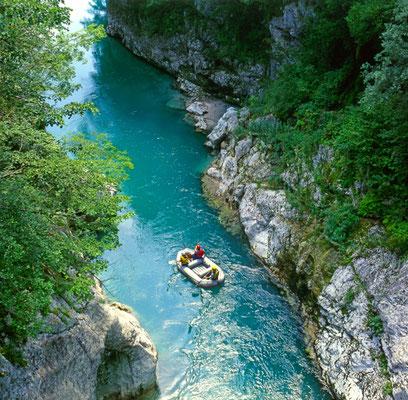Soca River Triglav National Park copyright Pecold