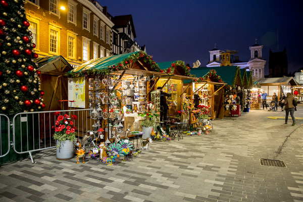 Kingston upon Thames Christmas Market - Copyright inkingston.co.uk - European Best Destinations