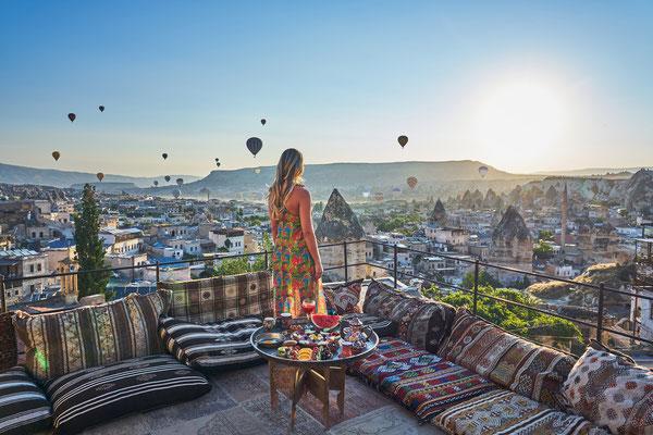 Cappadocia hot air Balloon copyright Sadik Yalcin