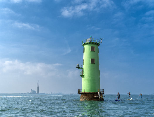 Green Lighthouse, Dublin - Copyright Ireland.com