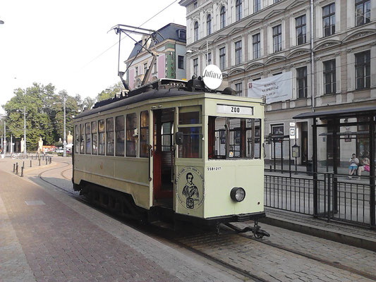 Antique trams in Wroclaw - Copyright VisitWroclaw.eu - European Best Destinations