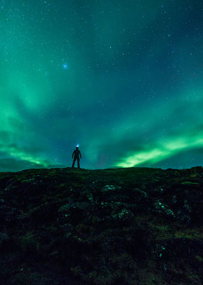 Aurora borealis (Northern Lights) in Iceland Copyright  Jamen Percy