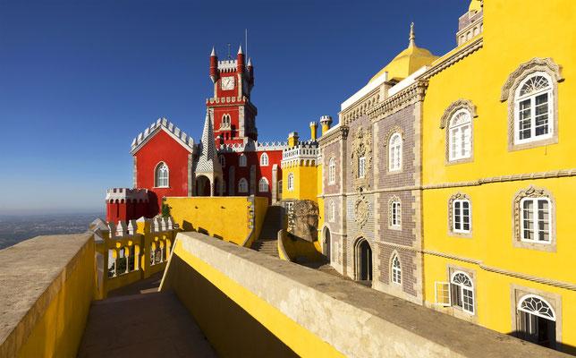 Palacio da Pena - Sintra, Lisboa, Portugal, Europe - Copyright Mikadun